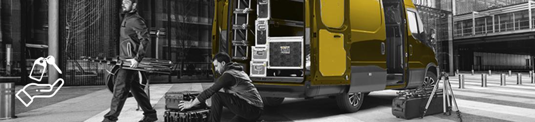 Alquiler furgonetas - Reting furgonetas de hasta 3.5T